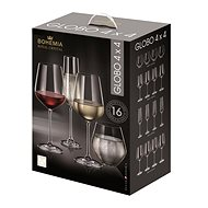 BOHEMIA ROYAL CRYSTAL Globo Set 16 pcs - Glass Set