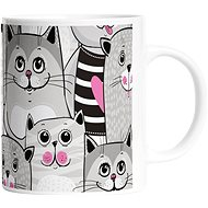 Butter Kings Mug - Grey Kitties - Mug