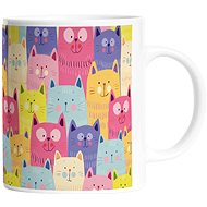 Butter Kings mug cats in colours - Mug