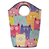 Butter Kings multifunction bag cats in colours - Laundry Basket