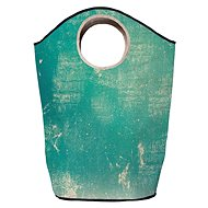 Butter Kings Multifunctional Laundry Bag, Vintage Turquoise - Laundry Basket