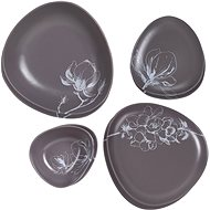 by inspire Dining set Twig stone 8pcs - Dish set