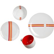 by inspire Dining set Line 8pcs, plus salt shaker and pepper shaker - Dish set