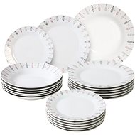 by inspire Dining Set Feather 18pcs - Dish set