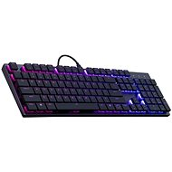 Cooler Master SK650, gaming keyboard, RED Switches, RGB LED, US layout, black
