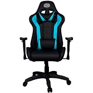 Cooler Master CALIBER R1 Gaming Chair, Black-Blue - Gaming Chair