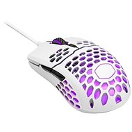 Cooler Master LightMouse MM711, gaming mouse, optical, 16000 DPI, RGB, matt white - Gaming Mouse