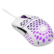Cooler Master LightMouse MM711, gaming mouse, optical, 16000 DPI, RGB, glossy white - Gaming Mouse