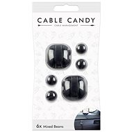Cable Candy Mixed Beans 6-pack black