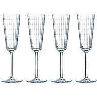 CRISTAL D´ARQUES Champagne Flute 170ml IROKO 4pcs - Glass for Champagne