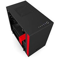 NZXT H200i Matt Black / Red - PC Case