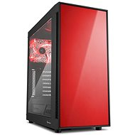 Sharkoon AM5 Window Red - PC Case