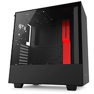 NZXT H500 black-red - PC Case