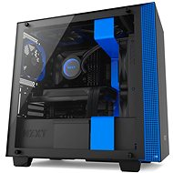 NZXT cabinet H400 black and blue - PC Case