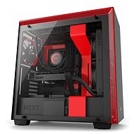 NZXT Case H700 black and red - PC Case