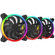 SilentiumPC Sigma HP Corona ARGB 140, 3-Pack - PC Fan