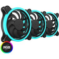 SilentiumPC Sigma HP Corona RGB Kit (3 x 120mm) - PC Fan