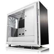 Fractal Design Define R6 USB-C White Tempered Glass - PC Case