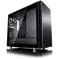 Fractal Design Define R6 Blackout Tempered Glass - PC Case