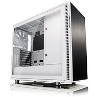 Fractal Design Defines R6 White Tempered Glass - PC Case