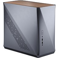 Fractal Design Era ITX Titanium Grey - Walnut - PC Case