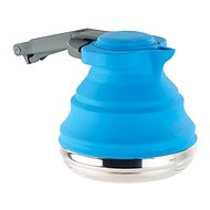 Rosenstein & Söhne Foldable Silicone Kettle From Stainless Steel, 1200ml - Kettle
