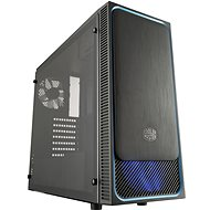 Cooler Master MasterBox E500L blue - PC Case