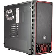 Cooler Master MasterBox E500L red - PC Case