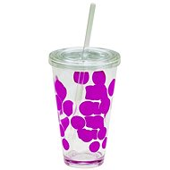 ZAK DOT DOT Ice plastic glass 480ml, fuchsia - Glasses