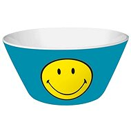 ZAK Cereal Bowl SMILEY 15cm, Blue Colour - Bowl