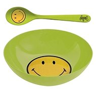 ZAK Breakfast set SMILEY 17cm, green - Set