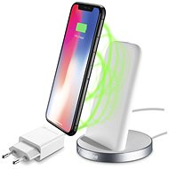 Cellularline WIRELESS FAST CHARGER STAND White - Wireless charger