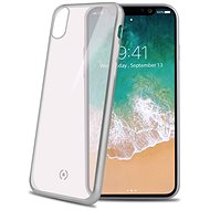 CELLY Laser for iPhone X silver - Rear Cover