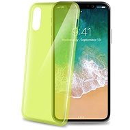 CELLY Ultrathin for iPhone X light green - Protective Case