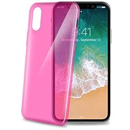 CELLY Ultrathin for iPhone X pink - Protective Case