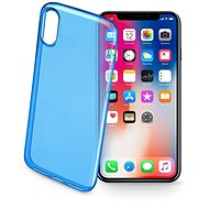 CellularLine COLOR for iPhone X blue - Protective Case