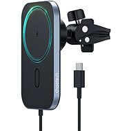 ChoeTech Magnetic Holder Wireless Car Charger 15W Black - Wireless Charger