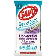 SAVO chlorine-free universal cleaning cloths - lavender 30 pieces - Wet Wipes