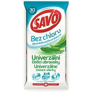 SAVO chlorine-free universal cleaning wipes Eucalyptus 30 pieces - Wet Wipes