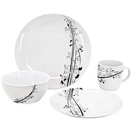 Clay BLACK Dining Set for 4 Persons - Dish set