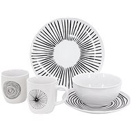 Clay NOIR Dining Set for 4 People - Dish set