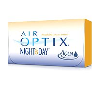 Air Optix Night and Day Aqua (3 lenses) power: -5.25, base curve radius: 8.60 - Contact Lenses