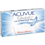 Acuvue Oasys (6 lenses) dioptres: -3.50, curvature: 8.40 - Contact Lenses