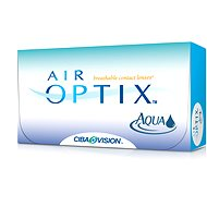 Air Optix Aqua (6 lenses) dioptres: -10.00, curvature: 8.60 - Contact Lenses