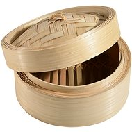CONTACTO Bamboo Steamer 20cm - Steam Potato Cooker