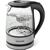 Concept RK-4900 glass and stainless steel 1.2l - Rapid Boil Kettle