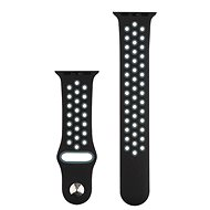 COTEetCI Sports Perforated Strap for Apple Watch 42 / 44mm Black-grey - Watch band