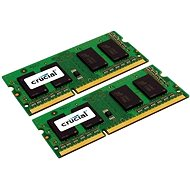 Crucial SO-DIMM 8GB KIT DDR3 1600MHz CL11 Dual Voltage pro Apple/Mac - System Memory