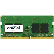 Crucial SO-DIMM 8GB DDR4 2400MHz CL17 Dual Ranked - System Memory