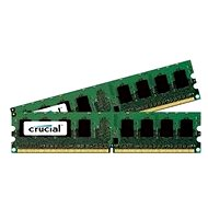 Crucial 2GB Kit DDR2 800MHz CL6 - System Memory